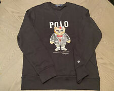 Authentic Polo Ralph Lauren Punk Bear Sweater Sweatshirt *See measurements*