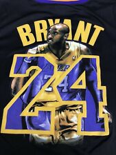 Rare Kobe Bryant Black Mamba Los Angeles Lakers Majestic Jersey Mens Sz XXL