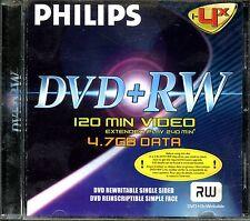 Philips DVD+RW 1-4x High Quality Media (4.7GB)