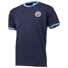 Camisetas de fútbol de clubes ingleses de manga corta para hombres azules