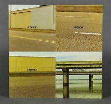 Steve Reich Kronos Quartet Triple Quartet Nonesuch Rare Promo 2 Sided Flat 12X12