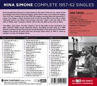 NINA SIMONE - COMPLETE 1957-1962 SINGLES  3 CD NEU