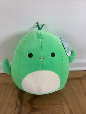 "New 16"" XL Spring Plant Squishmallow Green Cactus Boy Marcellus Rare Soft Plush"