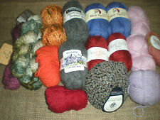 Araucania, Misty Alpaca, Reynolds...MIXED ALPACA & 	ALPACA BLAND LOT 14+ Skeins