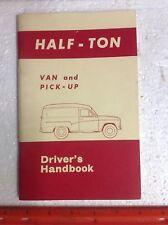 1970 AUSTIN MORRIS 1/2 TON VAN & Pick-Up SERIE A / hv6 HK6 HQ6 & M / HV4 HK4