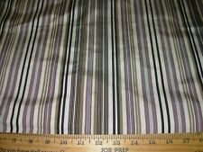2 Yds Vervain Maestro Stripe Silk Cotton Drapery Upholstery Fabric For Less