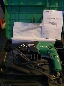 Hitachi (HiKoki) DH24PX 24mm 240V SDS Plus Rotary Hammer Drill and Side Handle