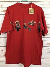 NWT North Pole Choppers T-Shirt Clearwater Outfitters Size Medium Red fs  KK