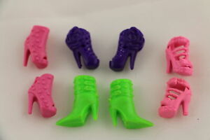 8 Pairs of Fun Boots Made to Fit Barbie Doll