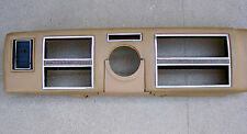 1975 - 1977 Lincoln Continental Town Car padded instrument finish panel 75 76 77