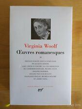 La Pléiade Virginia Woolf Works Nonfiction Tome II 2012