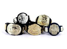 WWE Jakks Championship Belts Lot Wrestling Figure Accessory IC Undisputed_s93