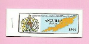 ANGUILLA 1978  QEII  25th Anniversary of CORONATION - STAMP BOOKLET Complete MNH