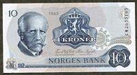 NORWAY 10 Kroner 1981 UNC Condition