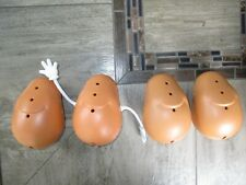 Lot of 4 Mr Potato Head Bodies 1 with Bendable Arms