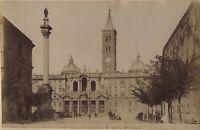 Italia Roma Basilique st Mary Principali Foto Vintage Albumina Ca 1880