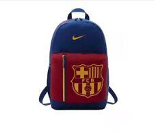 New Nike Stadium FC Barcelona Junior BA5524 Soccer Backpack Bag Kids