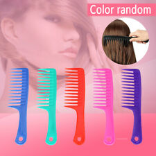 Wet Detangling Wide Tooth Hair Comb Anti-static Shower Hairbrush Salon Tool
