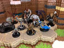 Dungeons & Dragons Miniatures Monster Creature Beast X10 Lot #3
