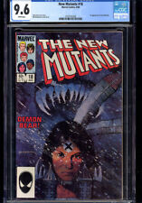 NEW MUTANTS #18 CGC 9.6 WP 1ST APP NEW WARLOCK!