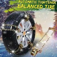 Anti-skid Car Steel Chain Skid Belt Snow Mud Sand Tire Accessories Chain Cl X1Y5