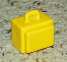 Vintage - Fisher Price Little People - Town, City - Luggage / Suitcase - Yellow