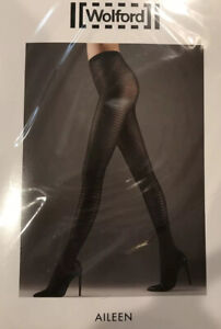 Wolford Aileen Tights Color: Java  Size: Medium 14485 - 08