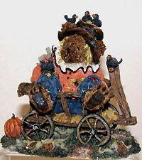 Boyds Einstein Q. & Scaredy Bear scarecrow #228373, Nib, Halloween, autumn, 2001