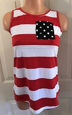 NWT, Fancyqube, Sz SM, Lightweight Polyester, Sleeveless, Racerback Top