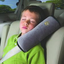 Kid Children Safety Strap Car Seat Belts bedding Pillow Shoulder Protection Gray