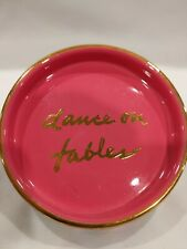 """New listing Lilly Pulitzer """"Dance on Tables� Coaster Trinket tray 4"""" Free Shipping"""