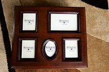 Bombay Company Mahogany Framed PHOTO BOX Storage Display, 1200 4x6 Pictures
