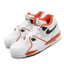 Nike Air Flight 89 EMB Rucker Park 10039 White Orange Black Men Shoes CZ6097-100