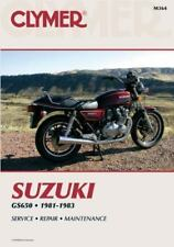 1981-1983 Suzuki GS650 Clymer Repair Service Workshop Shop Manual M364