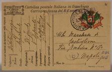 POSTA MILITARE 31^ DIVISIONE 30.11.1917 TIMBRO DI REPARTO #XP280A