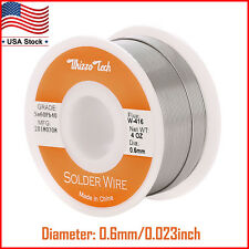 60-40 Tin Lead Rosin Core Solder Wire for Electrical Solderding 0.023 inches 4oz