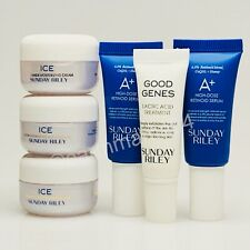 NEW ~ Sunday Riley Ice Good Genes And Retinoid Serum ~ Lot Deluxe Sample Size