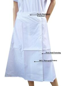 CATHEDRAL Duraproof Ladies White Heavyweight Waterproof Unlined Overskirt G 2021