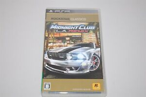 Midnight Club: L. A. REMIX Japan Sony PSP game