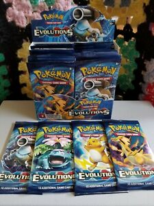 Pokemon XY Evolutions - FACTORY SEALED, AUTHENTICTCG Booster Pack