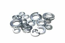 "(10) 3/8"" REGULAR SPLIT LOCK WASHERS ZINC"