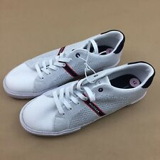 TOMMY HILFIGER Men's Pronto White Shoes Sneakers Size 12
