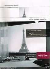 Publicité advertising 2013 Hotel Mercure