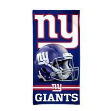 New York Giants Nfl Football Beach Towel, Bath Towel Beach Towel, Helmet Logo