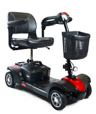 FREE SHIP. Scout Sport Quattro Mobility Scooter with Quad Suspension *Brand New*