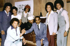 """The Jackson 5 UNSIGNED 6"""" x 4"""" photo - M8569 - With Kenneth Gamble and Leon Huff"""