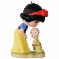 Hallmark 2017 Snow White and Dopey Precious Moments 7 Dwarfs Disney Ornament