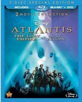 Atlantis: The Lost Empire / Atlantis: Milo's Return [New Blu-ray] With DVD, Sp