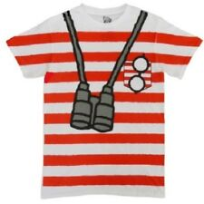 WHERE'S WALDO COSTUME T-SHIRT Large NEW