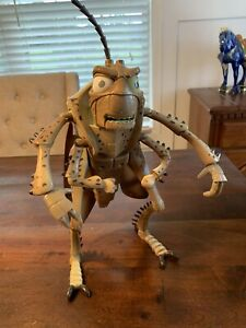 "Disney Pixar A Bugs Life HOPPER 13.5"" Posable Grasshopper Thinkway Toys RARE"